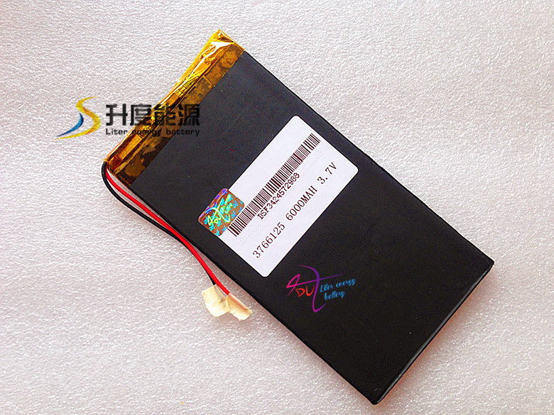 3766125 Tablet PC battery 3.7V <font><b>6000mAh</b></font> V811V801 E708 Q1 image