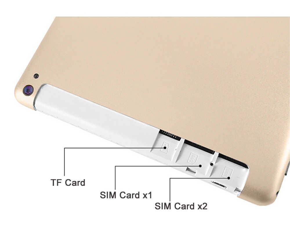 Лидер продаж 2019 Новый 10-дюймовый планшетный ПК 3g 4 аппарат не привязан к оператору сотовой связи Android 8,0 Octa Core 4 Гб Оперативная память 64 Гб Встроенная память, Wi-Fi, gps 10,1 ips 1280*800 + подарки