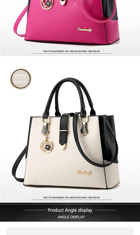 Fgjllogjgso marca feminina bolsa de couro totes