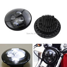 7inch Motorcycle LED Headlight Projector Daymaker LED Light HID Bulb Headlight for Harley Davidson