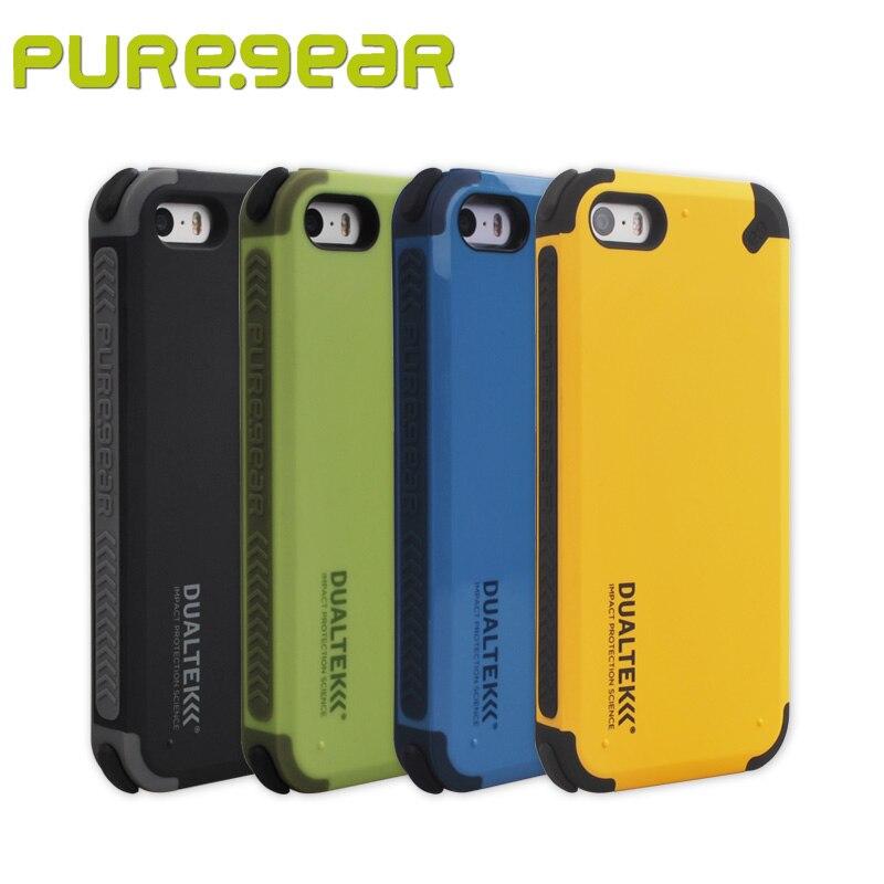 imágenes para Puregear DualTek Original Al Aire Libre Extrema Antichoque Caso de Shell para el iphone SE/60894PG 60895PG 5S con El Paquete Envío Gratis