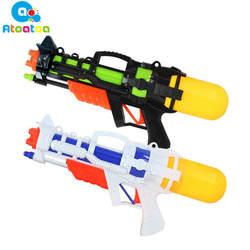 Воды Пистолеты 38 см 800 мл Ёмкость воды Пистолеты игрушки Water Fun летняя одежда для детей игр на открытом воздухе игрушки воды Пистолеты
