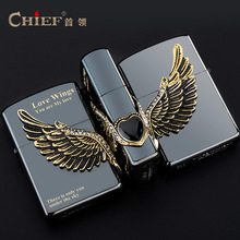 USB  Lighter Black Ice Wings of Love USB Lighter Windproof Smoking Konstantine Vintage Style USB Lighter