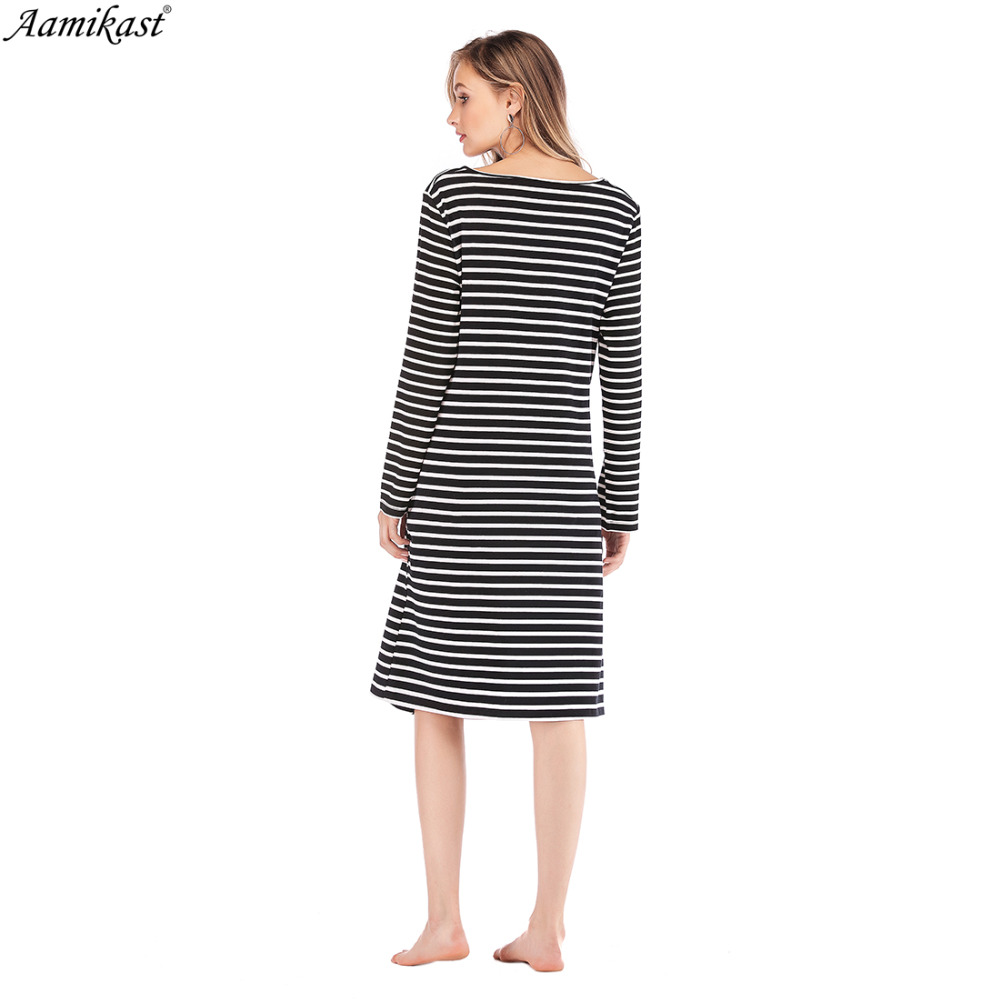 3346426c9e9 Aamika Maternity Dresses Pregnant Dress Long Sleeve Sexy Knee Lengt Maternity  Clothes For Pregnant Clothing Mom Vestidos Gravida-in Dresses from Women s  ...