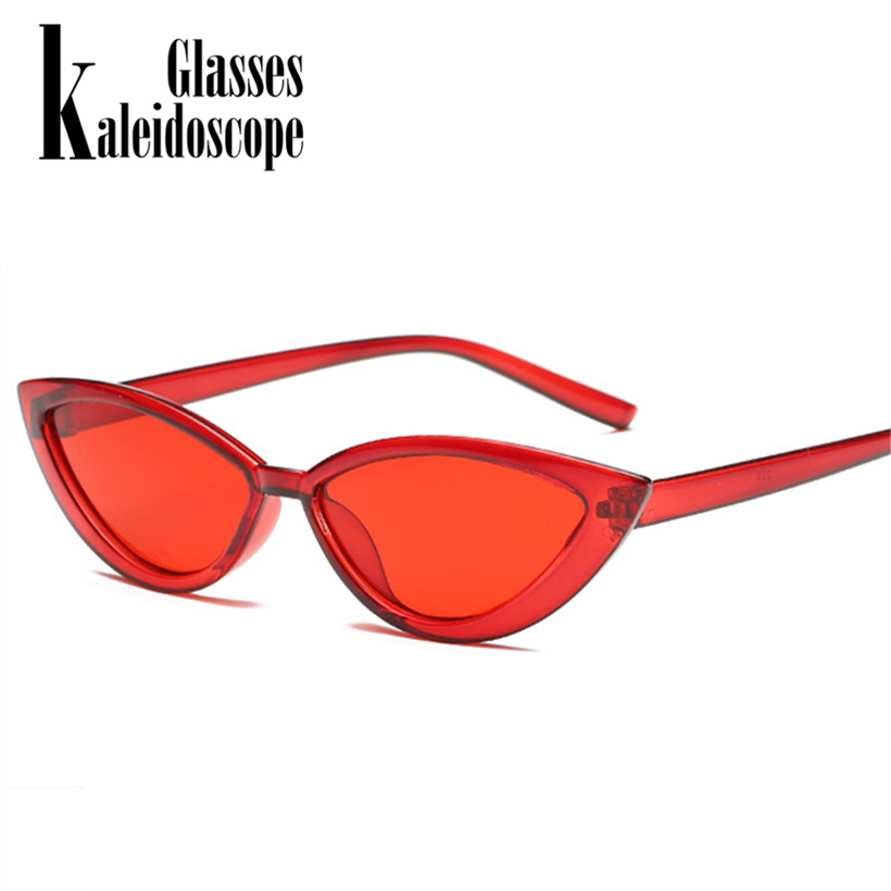 Kaleidoscope Glasses Women Cat Eye Sungalsses Luxury Brand Designer Transparen Frame Sun Glasses Faishon Accessories for Female ...