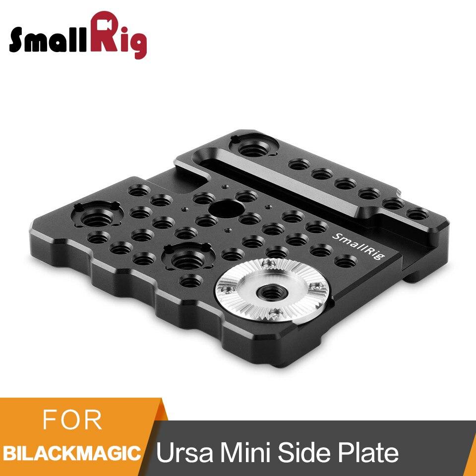 SmallRig Rosetta Piastra Laterale per BlackMagic URSA Mini/URSA Mini Pro Macchina Fotografica Con ARRI Fori di Posizionamento-1854