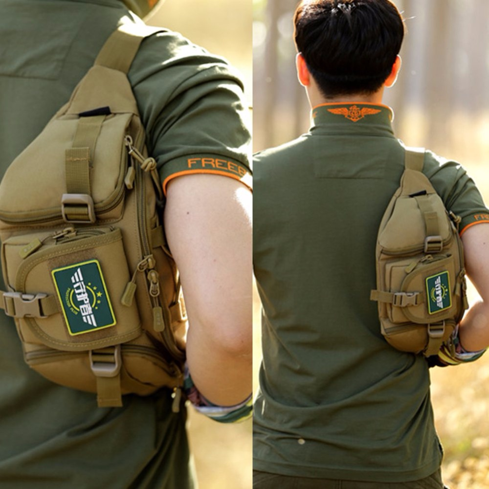 Topdudes.com - New Water Repellent Fanny Pack with Big Waist Belt