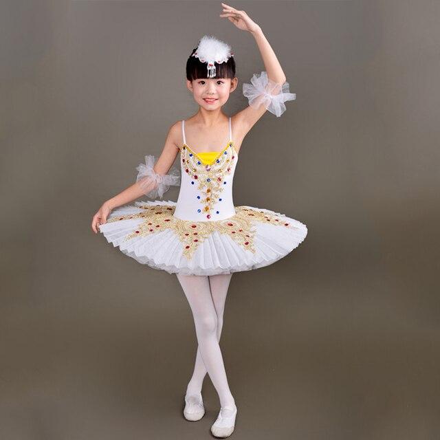 ce0085f1022c 2018 New Kid Professional Swan Lake Ballet Tutu Costume for Children  Ballerina Dress Kids Ballet Dress girl Dancewear tutu skirt