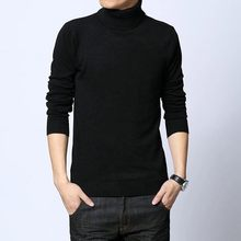 Men sweaters turtleneck thickening tops men sweater men winter slim sweater casual youth popular pullovers comfortable clothes
