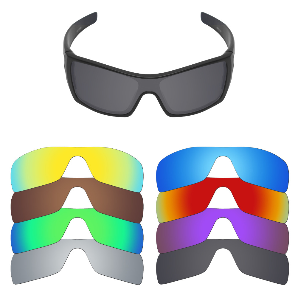 Mryok Polarized Replacement Lenses For Oakley Batwolf Sunglasses Lenses(Lens Only) - Multiple Choices
