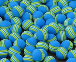 Монтажная цепь 1 шт. Гольф Радуга упражнения тренер практика мяч Небесно-Голубой аксессуары для гольфа
