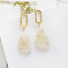 Irregular geometrical earrings gift personality original design 2018 Fresh fashion Jewelry wholesale