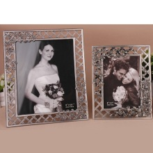 Wedding studio retro photo frame creative hollow flower tin ancient couple baby