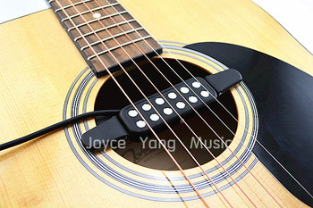 QH KQ-3 Acoustic Guitar Pickup Wire Amplifier Speaker Pickups Free Shipping free shipping new electric guitar open pickup in black te 8378