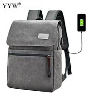 YYW Men Business Backpack Women Large Capacity USB Interface Casual Travel Back Bags Students College Laptop Schoolbags