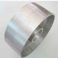 200*50 Fully Aluminum Roller Driving Wheel for abrasive belt polishing machine