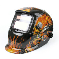 Areyourshop Darkening Welding Helmet Arc Tig Mig Mask Grinding Welder Solar Powered Mask Good Quality Welding Soldering Supplies