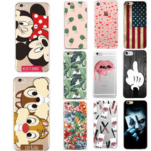 Phone Case For Apple iphone 5 5s Case Silicon TPU Cartoon For Couque iPhone 7 8 Plus 6 6s 5SE XS X 10 Mobile Phone Bags Cover(China)