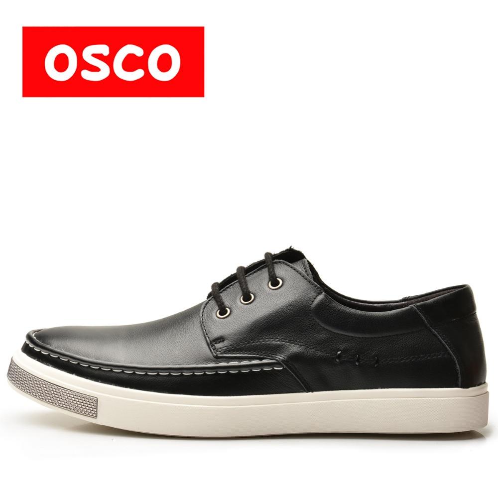 коляски трости esspero all season leather OSCO ALL SEASON New Men Shoes Fashion Men Sneakers  COW LEATHER Shoes  #A1503