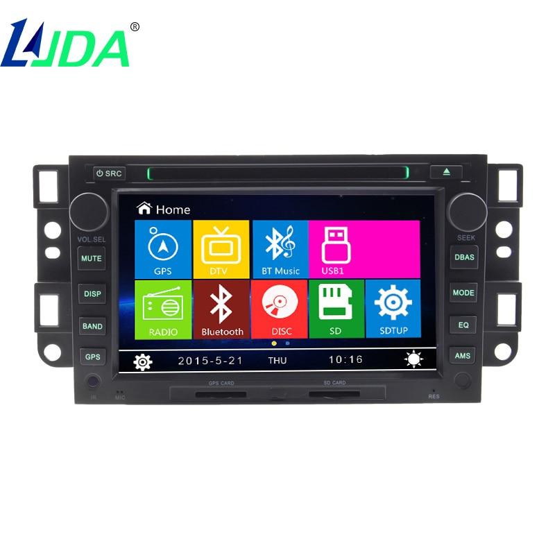LJDA 2din wince Car Radio Multimedia Player For Chevrolet Epica Captiva Aveo Bluetooth Car Video Car