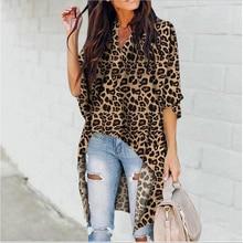 Fashion Women's Casual V-Neck Blouse Half Flare Sleeve Long