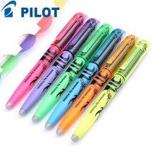 PILOT SW FL Erasable Highlighters Pen Non toxic Marker Pen Office School Stationery Supplies 6 Colors