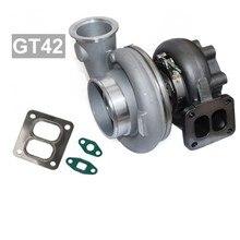 Xinyuchen Турбокомпрессор для автомобиля ремонт GT42 1000+ Турбокомпрессор масляного охлаждения