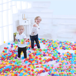 300pcs Dry Pool Balls Colorful Ball Soft Plastic Ocean Ball Kid Swim Pit Toy Water Pool Ocean Wave Ball(China)