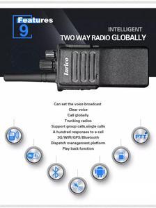 Image 4 - Intelligent global talking WCDMA/GSM Network military quality portable walkie talkie wifi GPS Bluetooth sim card radio