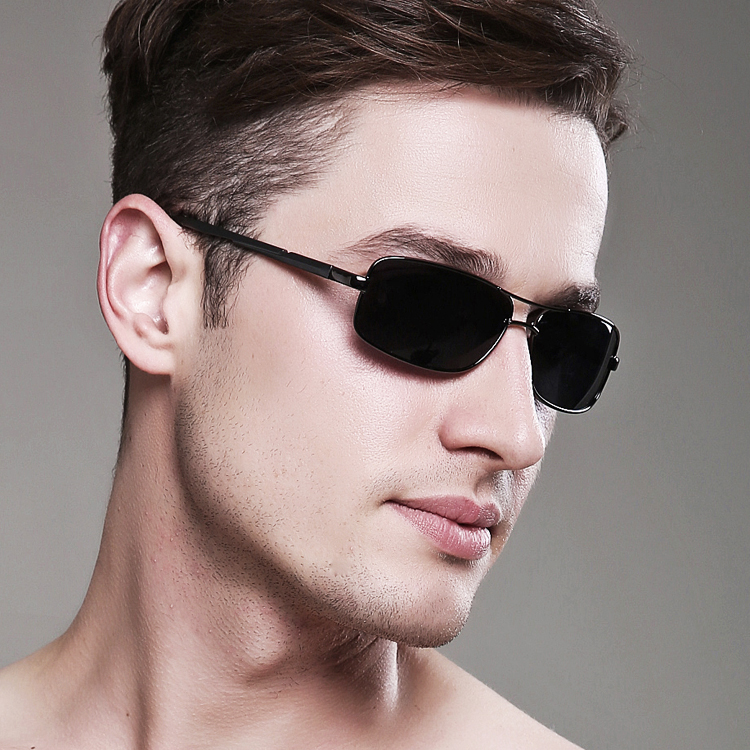 New Fashion 2016 Small Frame Polarized Sunglasses Men Sunglasses