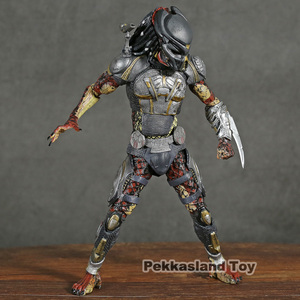 Image 3 - NECA Predator 2018 Film Latitante Predator PVC Action Figure Da Collezione Model Toy