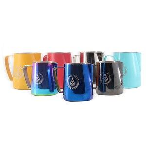 Image 5 - 1pcStainless Acciaio Inox Schiumare Brocca Tirare Fiore Tazza di Latte Brocca di Latte di Caffè Tazza di Latte Montalatte Espresso Schiuma Strumento Coffeware