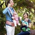 2017 Бесплатная Доставка роскошные 8 в 1 hipseat эргономичный кенгуру слинг рюкзак Кенгуру для детей детские wrap