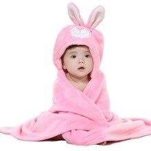 Одеяла одеяло детское форма полотенце прекрасный капюшоном халат новорожденных мягкие животных
