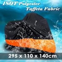 MAYITR XXXL Waterproof UV Resistant Motorcycle Cover Rain Protector For Harley Davidson Street Glide Touring Honda GL BMW