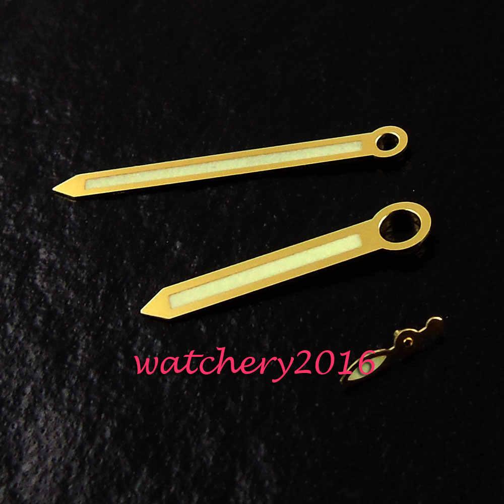 Nuevo oro amarillo manos para UNITAS ETA 6497 6498 ST 3600 3620 reloj movimiento de las manos