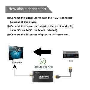 Image 3 - Wiistar HDMI إلى SDI محول الفيديو BNC SDI/HD SDI/3G SDI داعم محول 1080P للكاميرا المسرح المنزلي