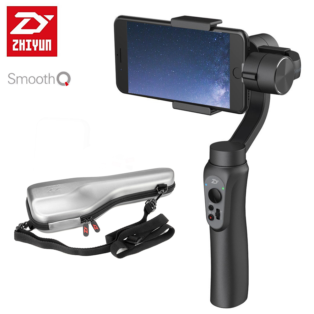 bilder für Zhiyun Glatt Q Handheld 3-Axis Gimbal Stabilizer 2000 mAh Batterie für Smartphone iPhone 7 Plus 6 S 6 Plus Samsung S7 S6 PK Feiyu