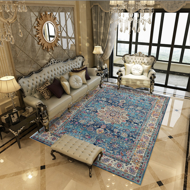 US $8.64 42% OFF|Moroccan Carpets For Living Room Home Persian Bedroom  Carpet Sofa Coffee Table Rug Study Room Floor Mat Cloakroom Area Rugs-in  Carpet ...