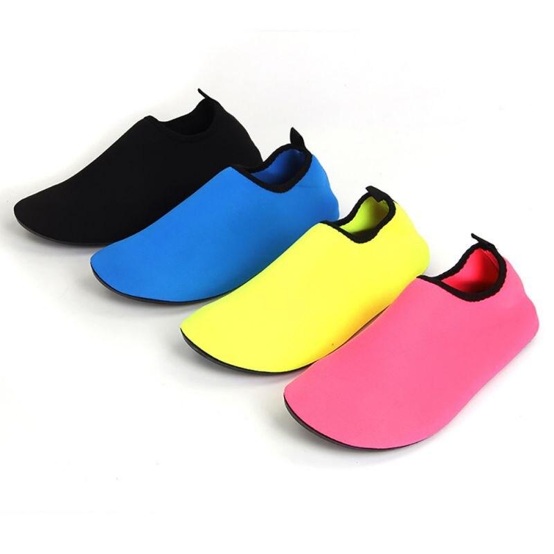 2017 Men Woman 4 Colors Barefoot Skin Sock Striped Shoes Beach Pool GYM Aqua Water Socks Beach Swim Slipper On Surf