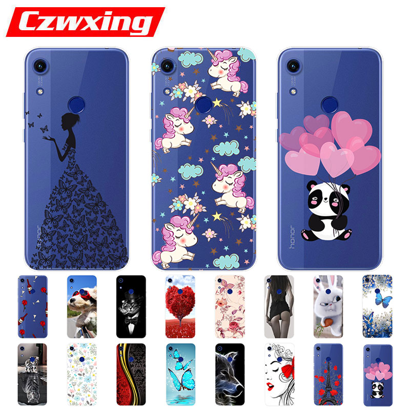 Honor 8A Case For Huawei Honor 8A Case Silicone TPU Cute Back Cover Phone Case On Huawei Honor 8A JAT-LX1 8 A Honor8A Case Soft(China)