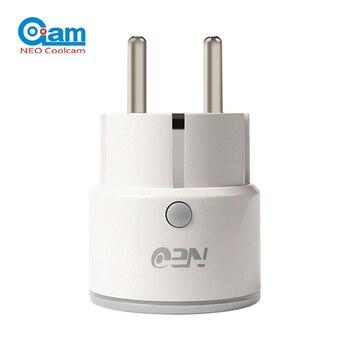 2018-NEO-COOLCAM-NAS-WR01W-SmartSocket-enchufe-de-la-UE-WiFi-Mini-inteligente-para-Amazon-Alexa