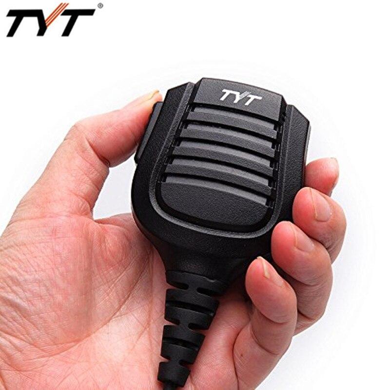 Original TYT IP67 Waterproof Remote Speaker Microphone for TYT Tytera Waterproof Walkie Talkie Two Way Radio MD-2017 MD-398