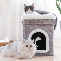 Cat Paly Furniture Scratchers House Scratching Post Protecting Grinding Claws Cats Scratcher Toy Accessories Supplies Products