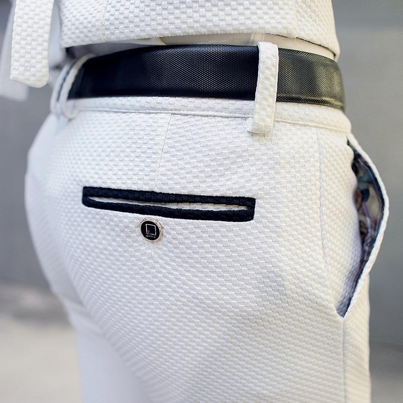 Costumes M Mens Slim Gilet Homme Hommes Cérémonie De veste 5xl Taille Pantalon Avec Mariage Blanc Grande Fit Vêtements Affaires Pantalons Costume FOXqw8x