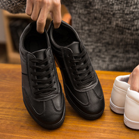NEW Men S Fashion Flat Shoes Spring Autumn Pu Leather Shoes Men Leisure Shoes Soft Bottom