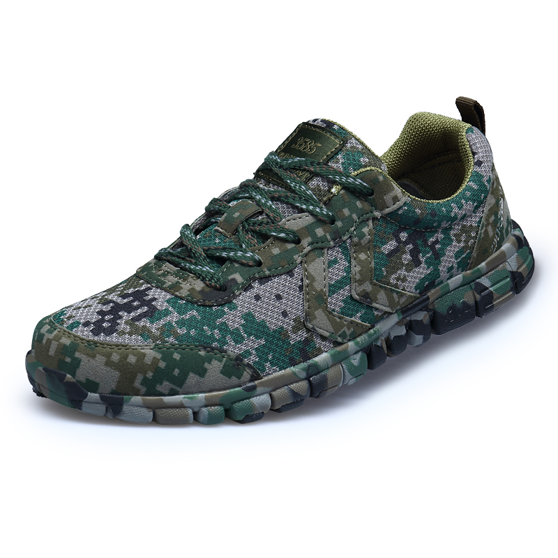 e83b61a470a8 New Cool Combat Outdoor Sports Shoes Cross Country Camouflage Army Shoes  Desert Running Shoes Military Training Sneakers For Men