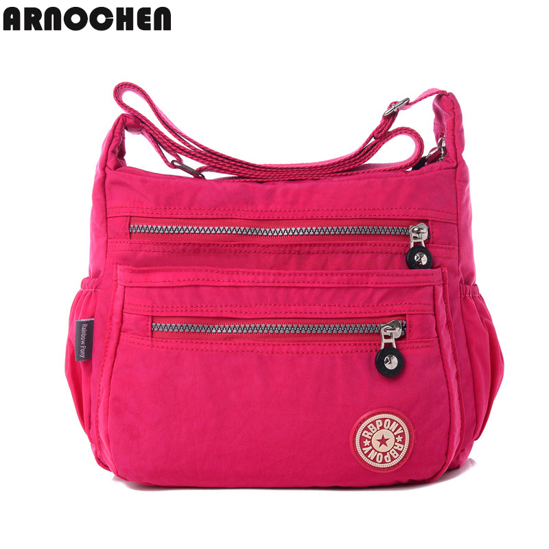 Hot !!!women Messenger bags nylon women bag shoulder Crossbody Bags fashion Ladi