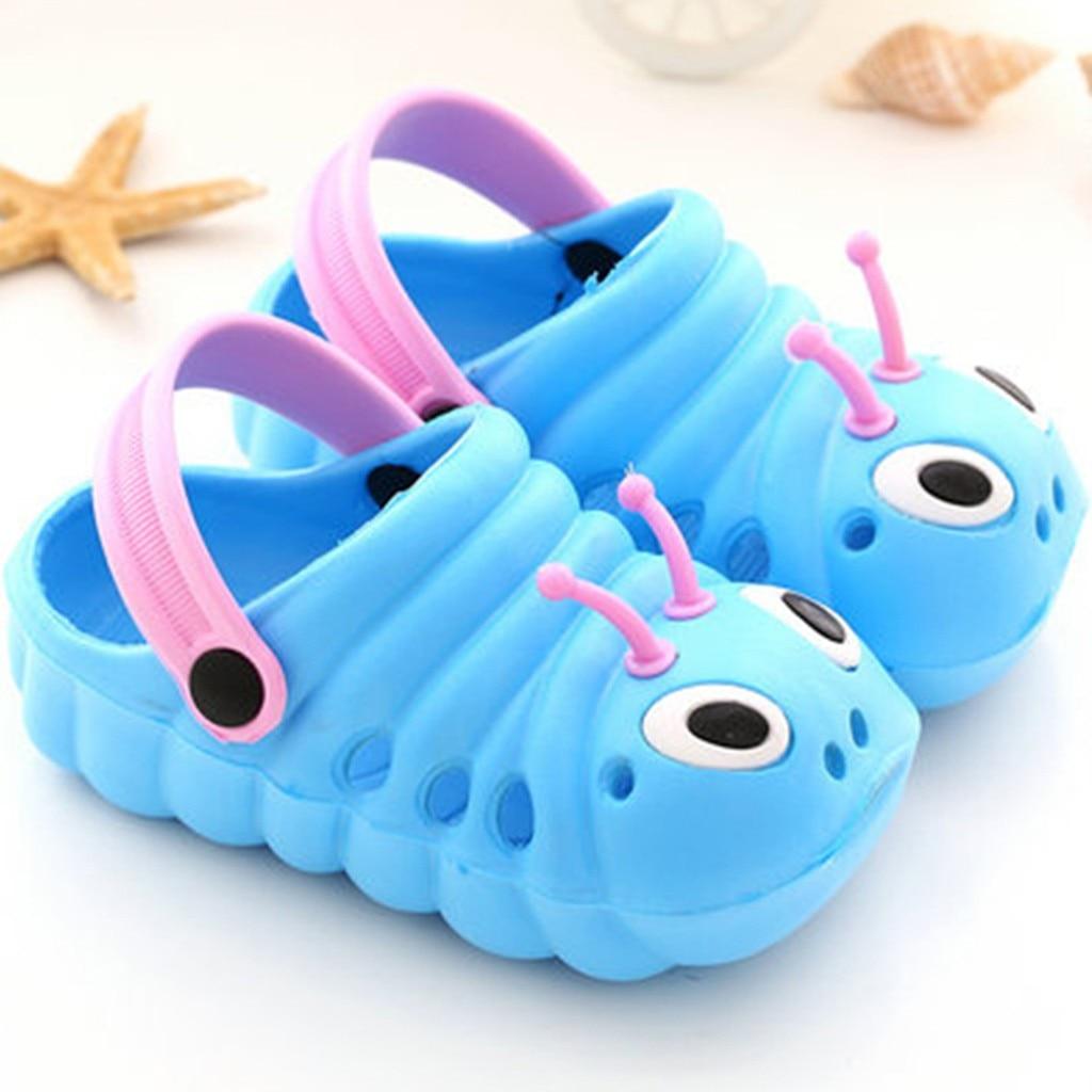 Детские сандалии; детские летние садовые шлепанцы для мальчиков и девочек; Легкие пляжные Нескользящие сандалии с отверстиями для малышей; яркие цвета;# p68