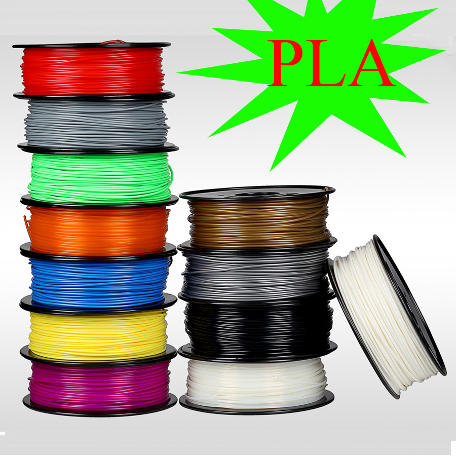 Consumables Material 3d printer filament PLA 1 75mm 1kg roll for MakerBot RepRap kossel Createbot 3d